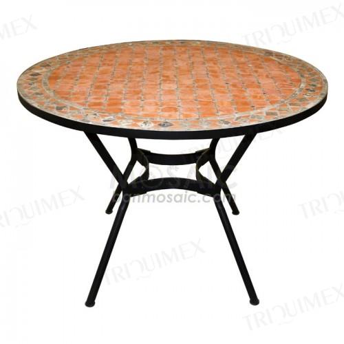 Round Garden Restaurant Dining Table