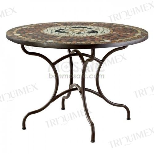 Round Garden Dining Table for Restaurants