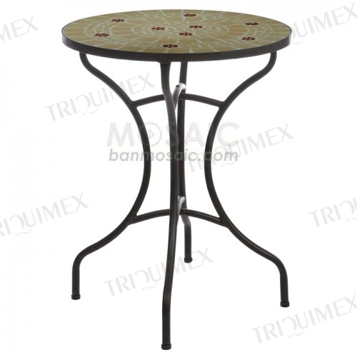 Tile Top Outdoor Bistro Table