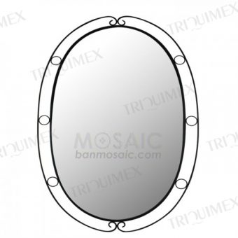 Wrought Iron Wall Mirror Frame