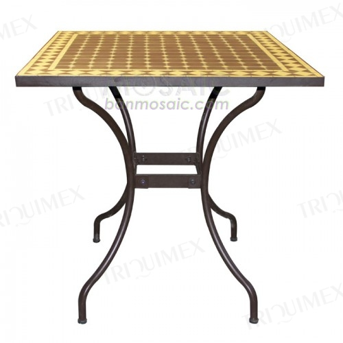 Square Mosaic Dining Table to Seat 4