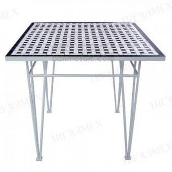 Square Mosaic Outdoor Table