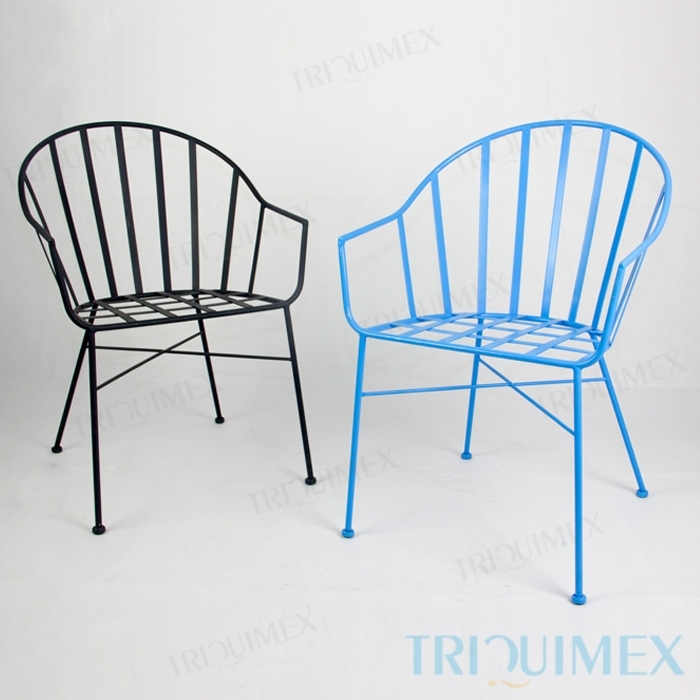 wrought iron tub chairs