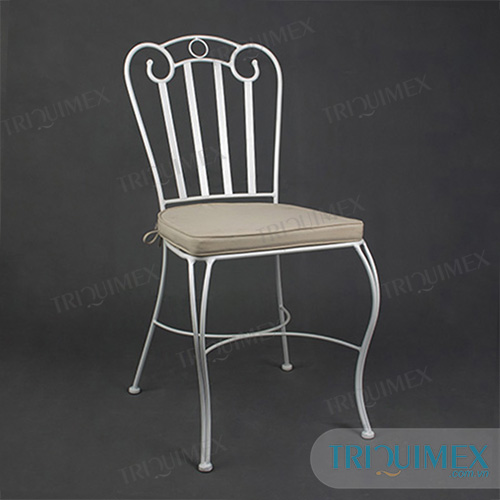 Wrought Iron Slat Chair Made In Vietnam