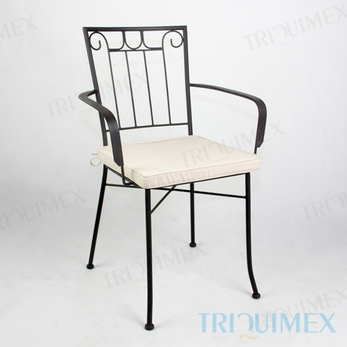 Wrought Iron Al Fresco Dining Chair
