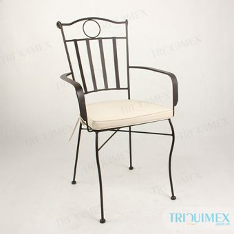 Wrought Iron Outdoor Dining Chair