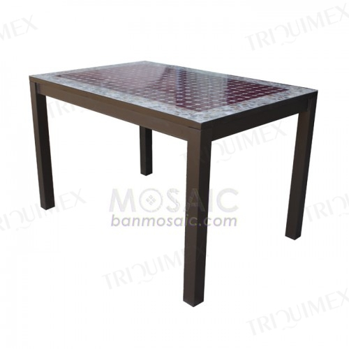 Rectangular Mosaic Dining Table