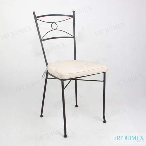Wrought Iron Patio Dining Chair