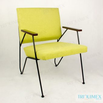 Upholstered Living Room Chair with Armrests