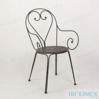 Iron Bistro Chair from Vietnam Iron Patio Chair Manufacturer