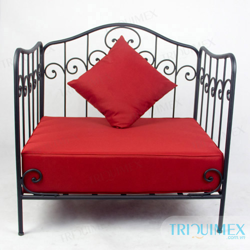 Beautiful Sofa from Artistic Iron Frame