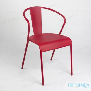 wrought iron coffee chair at Triquimex