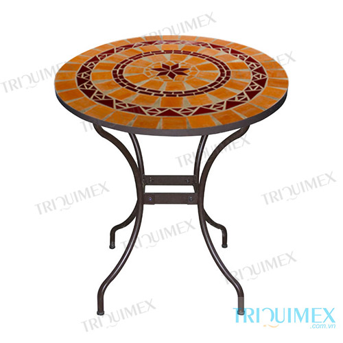 mosaic round table from Triquimex