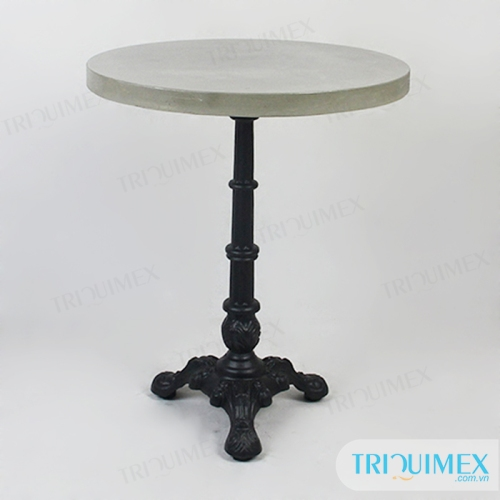 TR-087 Lightweight cement round table top