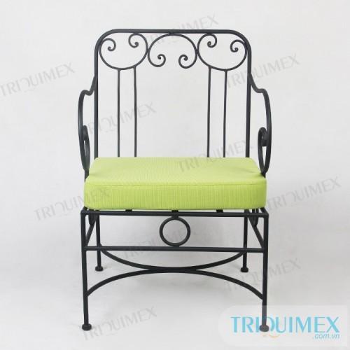 GH-142 Wrought iron individual sofa